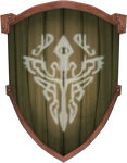 TP Wooden Shield by BLUEamnesiac