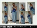 Blue Geisha Fairy Pack 5 by mizzd-stock