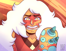 Your Diamond, My Diamond // Jasper SU Fan art by iamzxkv