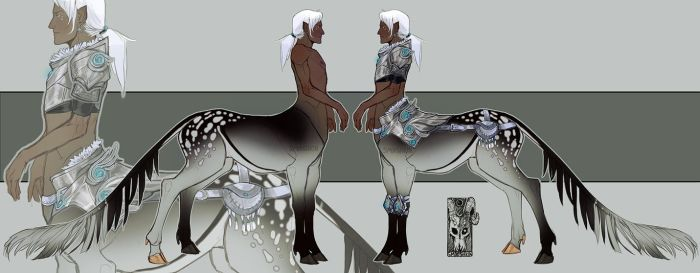 [Adopt] Winter Court Taur [CLOSED] by Smooshkin