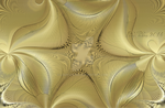 Gold fractal 1 by ladyjudina