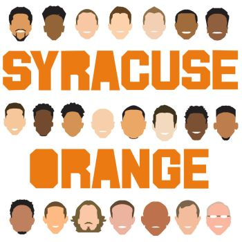 Syracuse Basketball Icons by mattmagargee