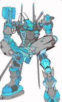 IceHawk Armored Core by SaneMadness