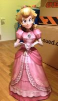 SSBB Peach Papercraft by giden445