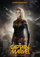 Captain Marvel by amyisalittledecoy