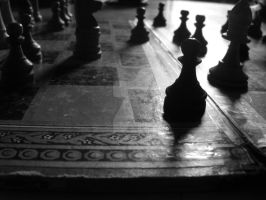 A Chess Game by rajalizinajar