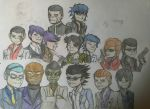 Gorillaz and OCs as Ryu Ga Gotoku characters by Fil101