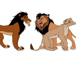 TLK theory - Scar's reign : Part 15 / Savior by Olphey