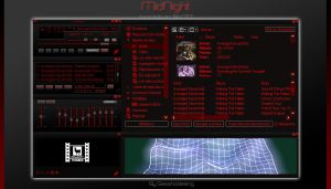 MidNight Winamp Skin by sesshodesing
