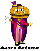 McDonaldland: Mayor McCheese by Gonzocartooncompany