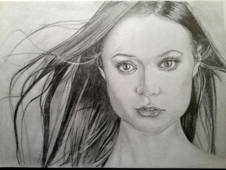 Summer Glau Graphite by matttnz