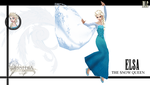 Elsa, the snow queen by 2PlayerWins