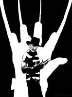 Freddy Five Finger Nightmare by TomKellyART
