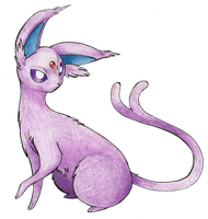 Espeon by FakeMakeT