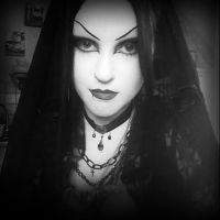 Goth Bride by mizzrammstein