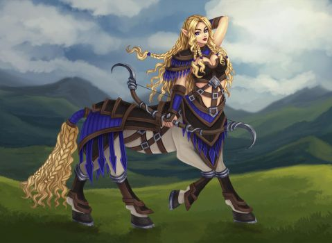 Centaur - dnd character by Tropic02