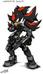 COMMISSION: Task Force Chaotix: Agent Shadow by Mimy92Sonadow