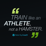 CrossFit - Train like an Athlete, not a Hamster. by Garconis
