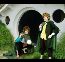 LotR Cosplay Merry Pippin 2 by Hikarulein