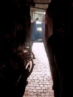 Marrakesh alley by Dogbytes
