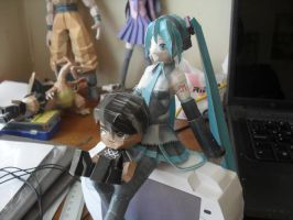 Miku and Me by ckry