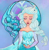The Cold Never Bothered me anyway by AssassinSquid