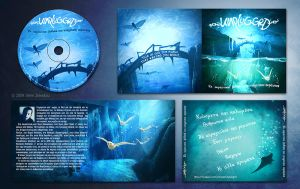 unplugged cd and booklet design by ftourini