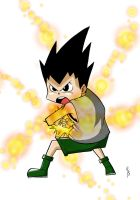 Fanart Gon freecs Hunter x Hunter by Cartakerjvb