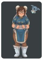 Mei as Chunli by miova