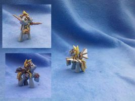 My Little Pony FiM Custom: Steampunk Derpy Hooves! by vulpinedesigns