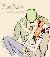 A Kiss to Your Heart(Zoro Nami) by BelleLoveZoro