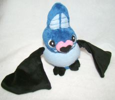 Swoobat Plush by Shadottie