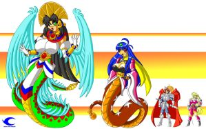 Tenamaxtli and friends by Animewave-Neo