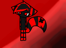 New TailMouth Cat OC~Flame~ by xXHopeAndIllusionXx