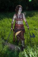 King Arthur - Guinevere cosplay by haricovert-cosplay