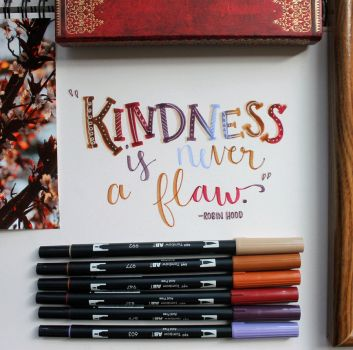 Kindness is Never a Flaw by MoPotter