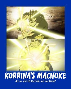 Korrina's Machoke (De)Motivational by El-Drago-800