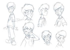 :: Boy Model sheet :: by samycat