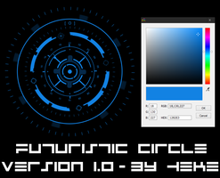 Futuristic Circle by hekee