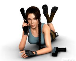 Lara Croft68 by Nicobass