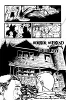 Horror Weekend Page 1 by thecreatorhd