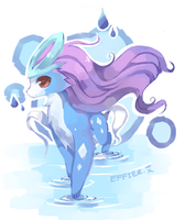 .suicune by Effier-sxy