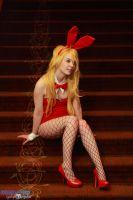 Anime Boston 2014 Panty Bunny by KrazedChaos