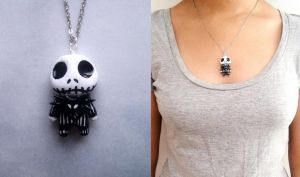 Jack Skelligton necklace by curry-brocoli