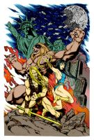 Thundarr the Barbarian by deathpiece