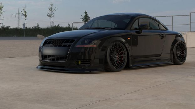 2003 Audi TT Black 1 by doom17