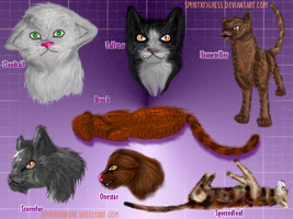 Fur trial- Warrior Cats by SpiritxTigress