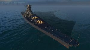 Blue Black Yamato by Admiral-Kevin