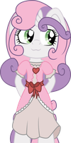 Anthro Sweetie Belle by TechnicallyLegal