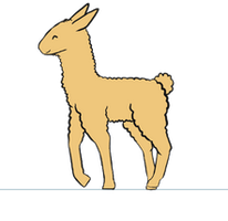 Llama Animation : Update 4 by A-R-T-3-M-I-S